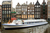 Amsterdam tourism — Stock Photo