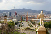 Vue de barcelone — Photo