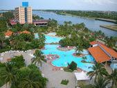 Cuba resort — Stock Photo