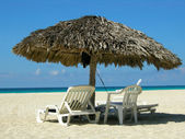 Varadero beach Cuba — Stock Photo