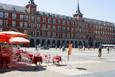 Madrid plaza — Stock Photo