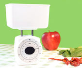 Food scale — Stock Photo