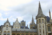 Ghent steeples — Stock Photo