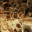 Stock Photo: Wicker baskets