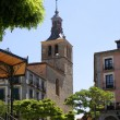 Segovia church - Stock Photo