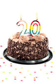 Twentieth birthday or anniversary — Foto Stock