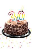 Trettionde födelsedag eller årsdag — Stockfoto