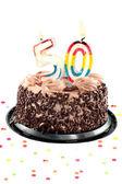 Fiftiety birthday or anniversary — Stock Photo