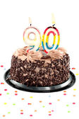 Ninetieth birthday or anniversary — Stock Photo