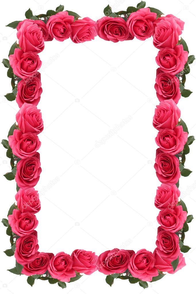Rose Border Frame