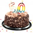 Fiftiety birthday or anniversary — Stock Photo