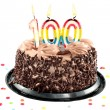 One hundred birthday or anniversary celebration - Stock Photo