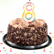 Stock Photo: Eight birthday