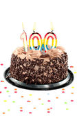 One hundred birthday or anniversary celebration — Stock Photo