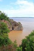 Hopewell Rocks, New Brunswick, Canada — Stock Photo