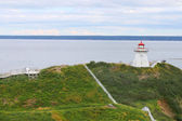 Cape Enrage lighthouse NB, Canada — Стоковое фото
