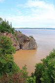 Hopewell Rocks, New Brunswick, Canada — Stock fotografie