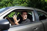 Road rage — Stock Photo