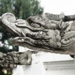 Asian Sculpture Dragon - Stock Photo