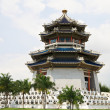 Pagoda. Traditional Chinese Temple - Stock Photo