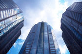 Wolkenkrabbers — Stockfoto