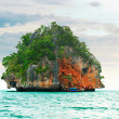 High cliffs on tropical island. — Stock Photo #3449044
