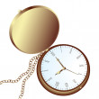 Pocket watch - Imagens vectoriais em stock