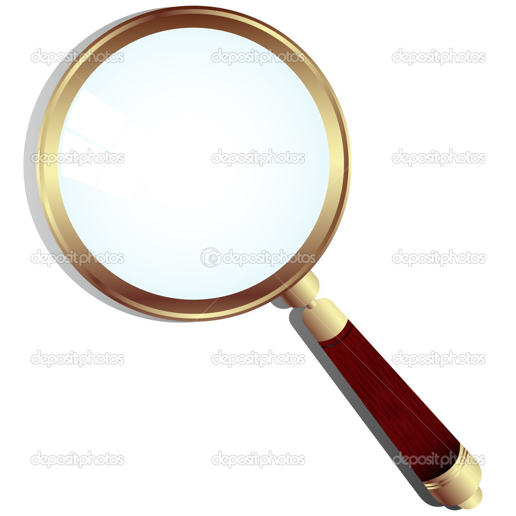 Magnifing glass — Stock Vector #2942923