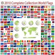 Wektor stockowy : World flags