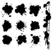 Ink spots — Stock Vector