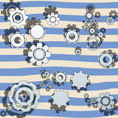 Cogwheels illustrated — Stock Photo