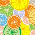 Seamless lemon — Stock Photo