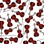 Red violins — Stock Photo