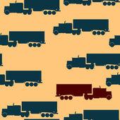 卡车图案 — 图库照片