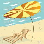 Summer card — Stock Photo