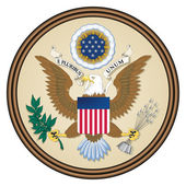 USA seal — Stock Photo