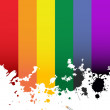 Rainbow flag — Stock Photo #3264894