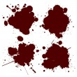 Blood splat - Foto Stock