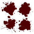 Foto Stock: Blood splat