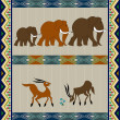 African background design — Stock Photo
