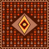 African carpet — Stock Photo