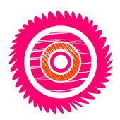 Abstract cogwheel — Stock Photo
