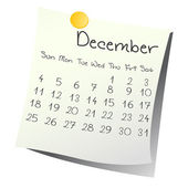 December 2011 — Stock Photo