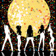 Disco party design — Stock Photo #3464690