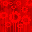 Abstract background in reds — 图库照片