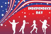 Illustration de fond pour la fête de l'indépendance — Photo