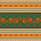Thailand traditional pattern — Stock Photo