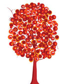 赤い木 — ストック写真