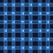 Blue stripes background - Stock Photo
