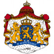 Netherlands coat of arms - Stock Photo